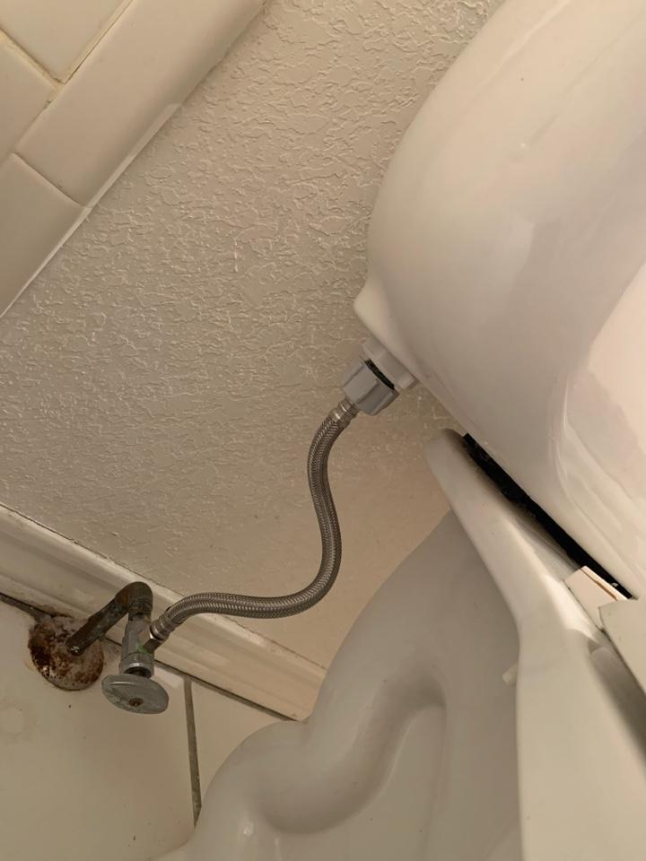 Aledo, TX - Toilet repair in Aledo.