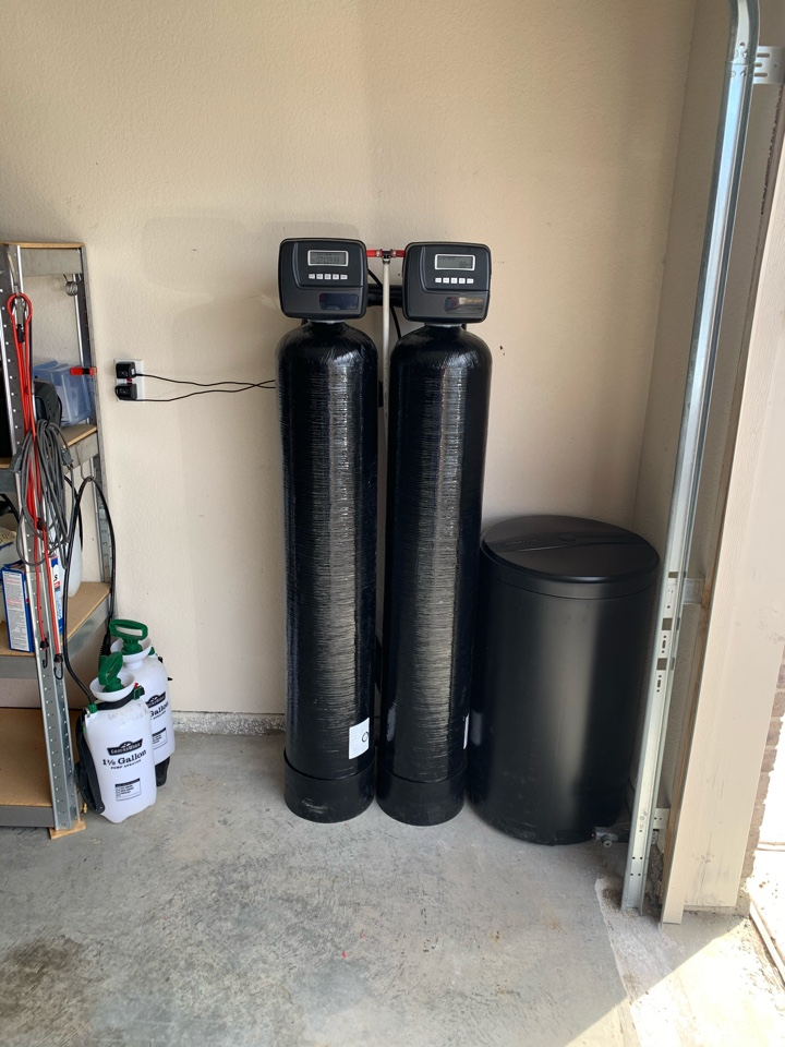 Crowley, TX - Water filtration and softener installation in Crowley.