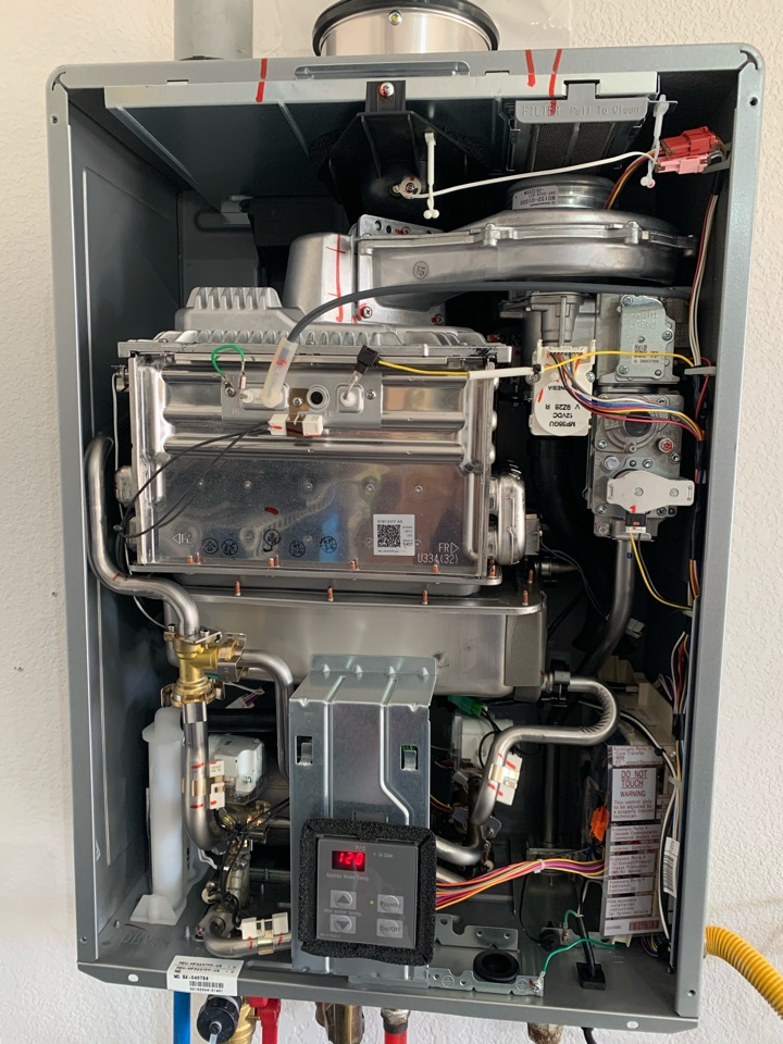 Fort Worth, TX - Tankless water heater replacement in Fort Worth.