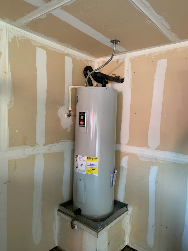 Crowley, TX - Water heater replacement in Crowley