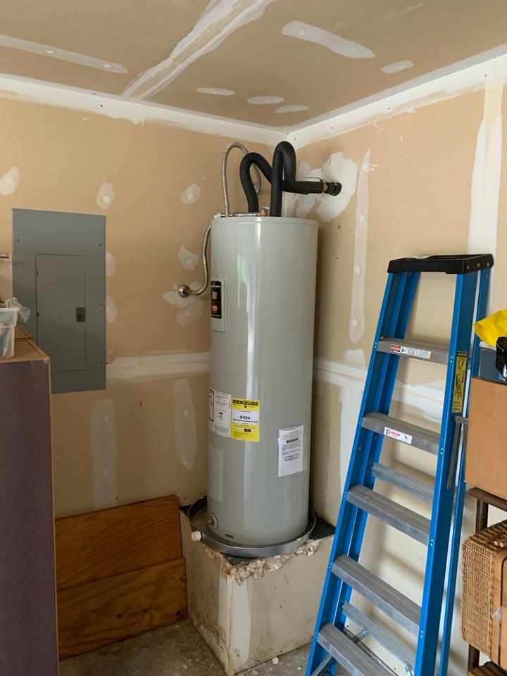 Benbrook, TX - Water heater replacement in Benbrook.