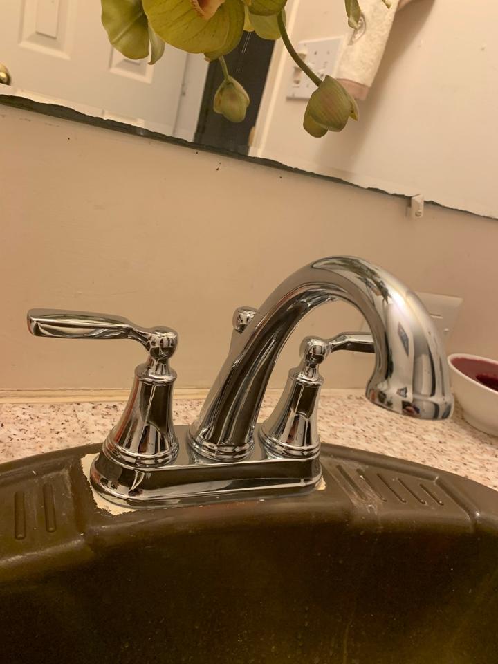 Granbury, TX - Faucet replacement in Granbury.