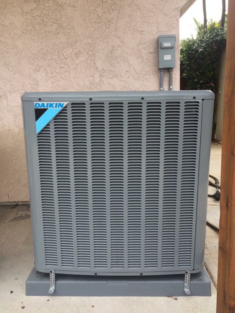 "Southwest HVAC Inc. Just passed an inspection on a new A.C. system in the city of El Segundo. ""This Daikin 4 Ton A.C. condenser is a great addition"" says it's new owner."