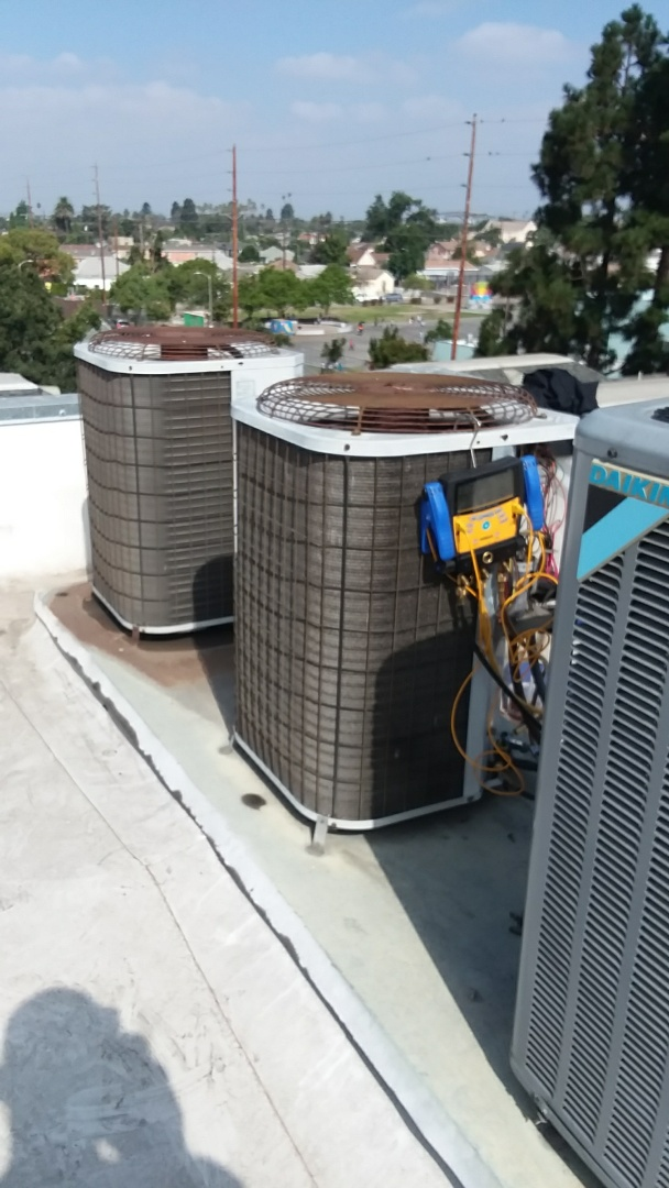 Changing out heating and air conditioning units