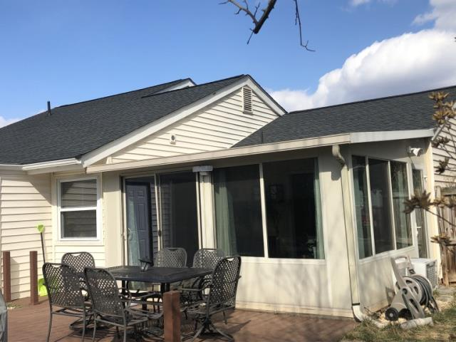 Sterling, VA - Sterling, VA - New roof helps revitalize home.  GAF Timberline HD architectural shingles are the customer favorite.