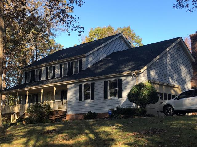 Catlett, VA - Catlett, VA - Beautiful roof replacement. This customer choose the GAF shingle color of Charcoal. #HillRoofing #ManassasRoofer #NorthernVARoofer #FauquierCounty #RoofRepair #Homeremodeler #RoofingCompany #RoofingNorthernVA #RoofingFairfaxVA #RoofingArlingtonVA #RoofingCentrevilleVA #Roofing #ContractorVirginia #ManassasRoofingContractor #NorthernVirginiaRoofer #NewRoof #RoofReplacement #GAF #TimberlineHD #Shingle #Asphalt #RoofingContractor #ResidentialRoof
