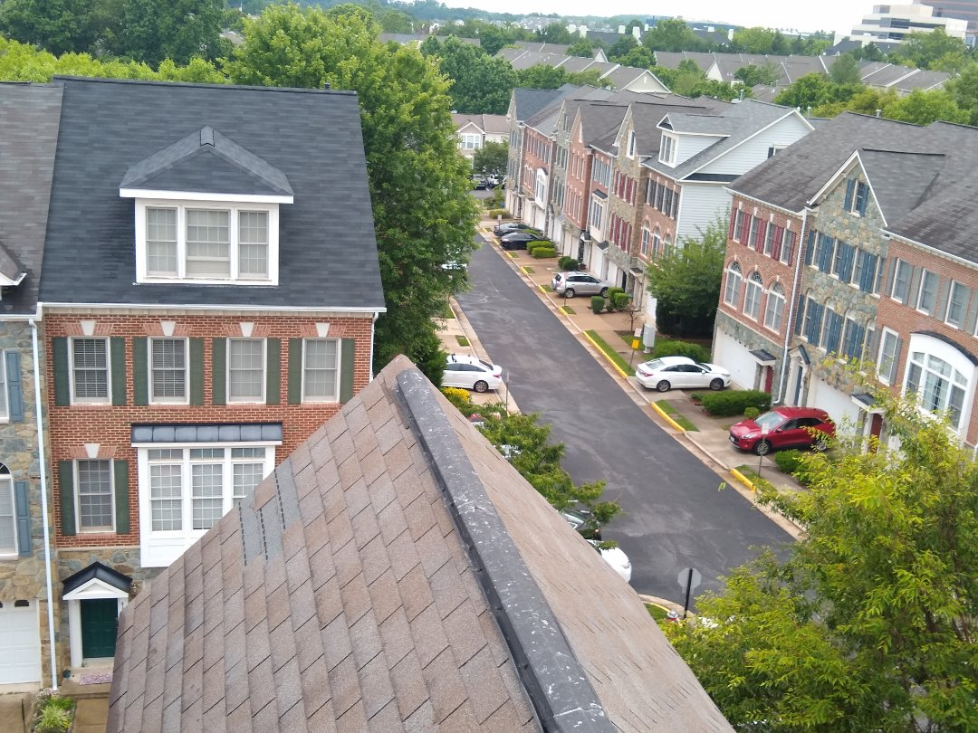 Fairfax, VA - Fairfax, VA - Look at our view for today! This roof has missing shingles due to high winds. We will be working with their insurance company to evaluate the damage. #HillRoofing #FairfaxCounty #VARoofer #AffordableRoofingCompanyNearMe #LocalRoofers #RoofMaintenanceCompany #RoofingCompanyNearMe #RoofingCompany #RoofingNorthernVA #RoofingFairfaxVA #RoofingArlingtonVA #RoofingCentrevilleVA #Roofing #ContractorVirginia #ManassasRoofingContractor #CommercialRoofing #NorthernVirginiaRoofer #RoofReplacement