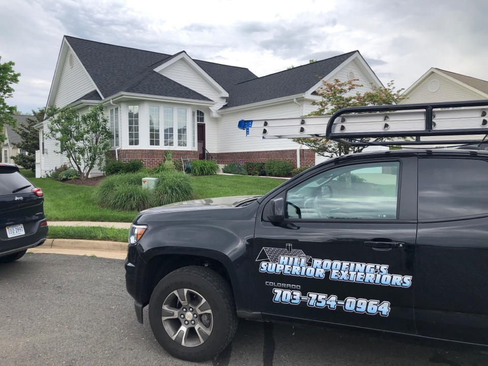 Gainesville, VA - Hill Roofing providing a roofing proposal in Gainesville, VA. #NorthernVAAffordableRoofingCompanyNearMe #BurkeAffordableRoofingCompanyNearMe #WarrentonLocalRoofers #NorthernVARoofMaintenanceCompany #LortonRoofMaintenanceCompany #NorthernVARoofingCompanyNearMe #ManassasRoofingCompanyNearMe #NorthernVARoofingCompany