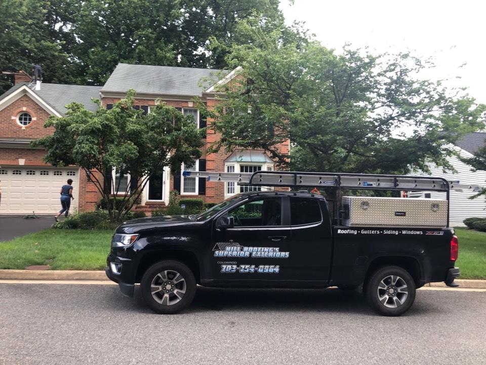 Fairfax, VA - Hill Roofing performing a free roofing proposal. #NorthernVAAffordableRoofingCompanyNearMe #BurkeAffordableRoofingCompanyNearMe #WarrentonLocalRoofers #NorthernVARoofMaintenanceCompany #LortonRoofMaintenanceCompany #NorthernVARoofingCompanyNearMe #ManassasRoofingCompanyNearMe #NorthernVARoofingCompany