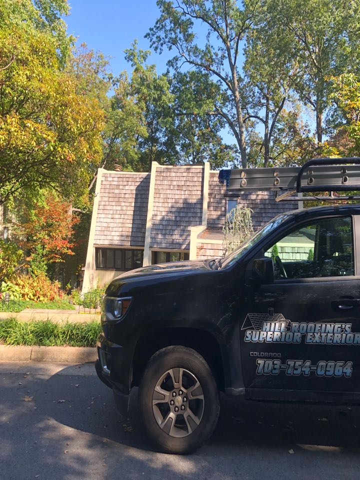 Reston, VA - Hill Roofing performing a free roofing proposal. #NorthernVAAffordableRoofingCompanyNearMe #BurkeAffordableRoofingCompanyNearMe #WarrentonLocalRoofers #NorthernVARoofMaintenanceCompany #LortonRoofMaintenanceCompany #NorthernVARoofingCompanyNearMe #ManassasRoofingCompanyNearMe #NorthernVARoofingCompany
