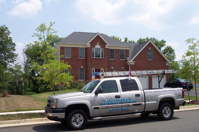 Haymarket, VA - Full roof replacement for hip roof and gable garage.