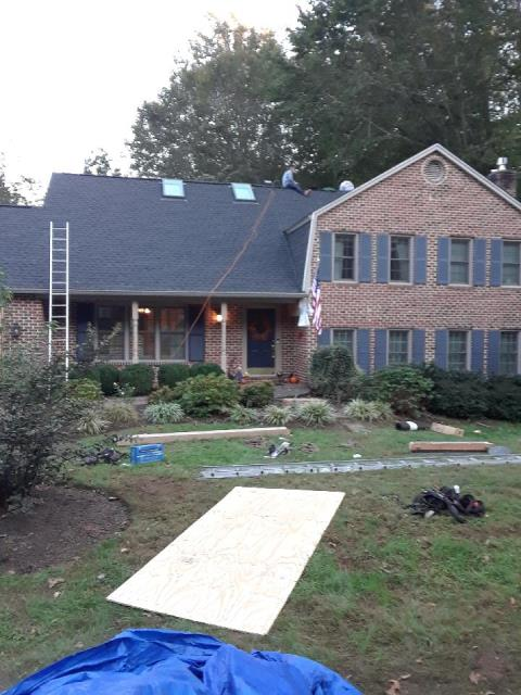 Gainesville, VA - Completed roof replacement with architectural shingles