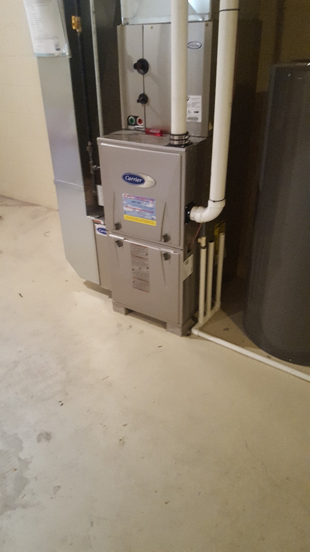 West Bend, WI - Converting carrier natural gas furnace to liquid propane