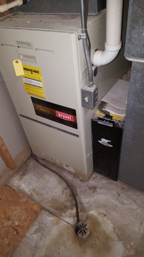 Belgium, WI - Repair Bryant two-stage gas furnace
