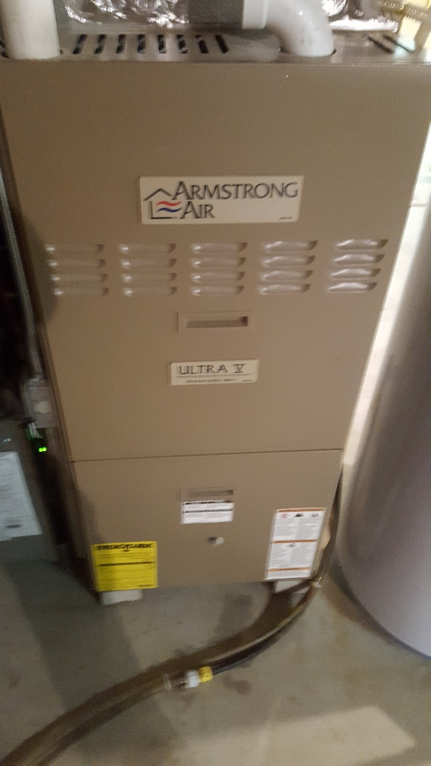 Grafton, WI - Furnace tune-up on Armstrong Air Ultra V enhanced 95v condensing gas furnace
