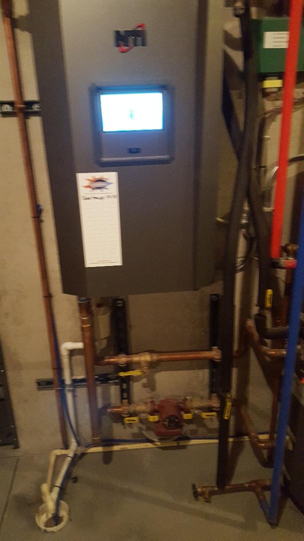 Port Washington, WI - NTI high efficiency gas boiler tune up
