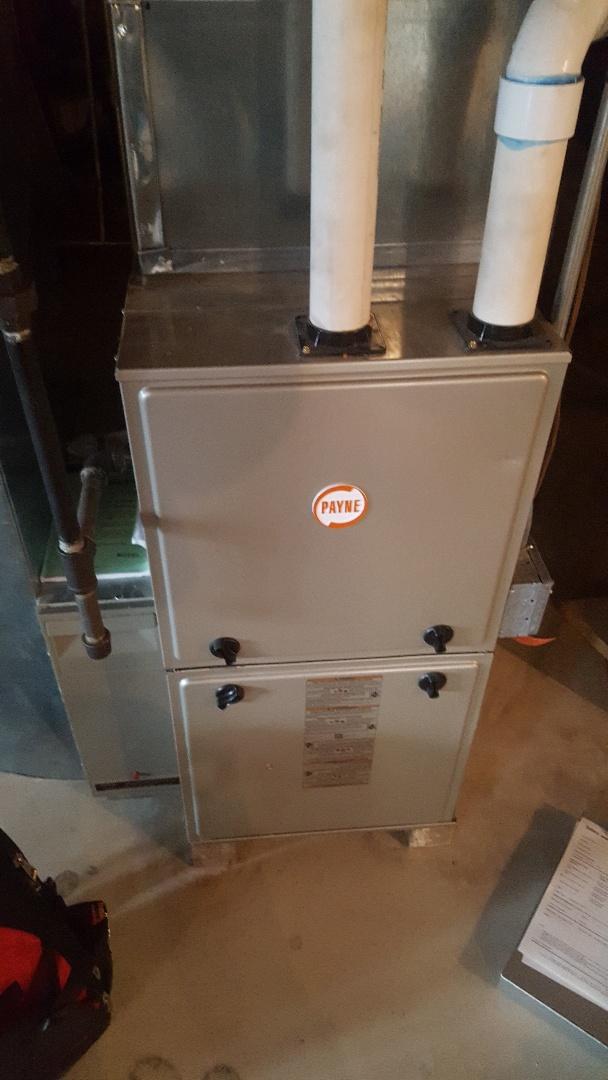 Cedarburg, WI - Repair Payne natural gas furnace