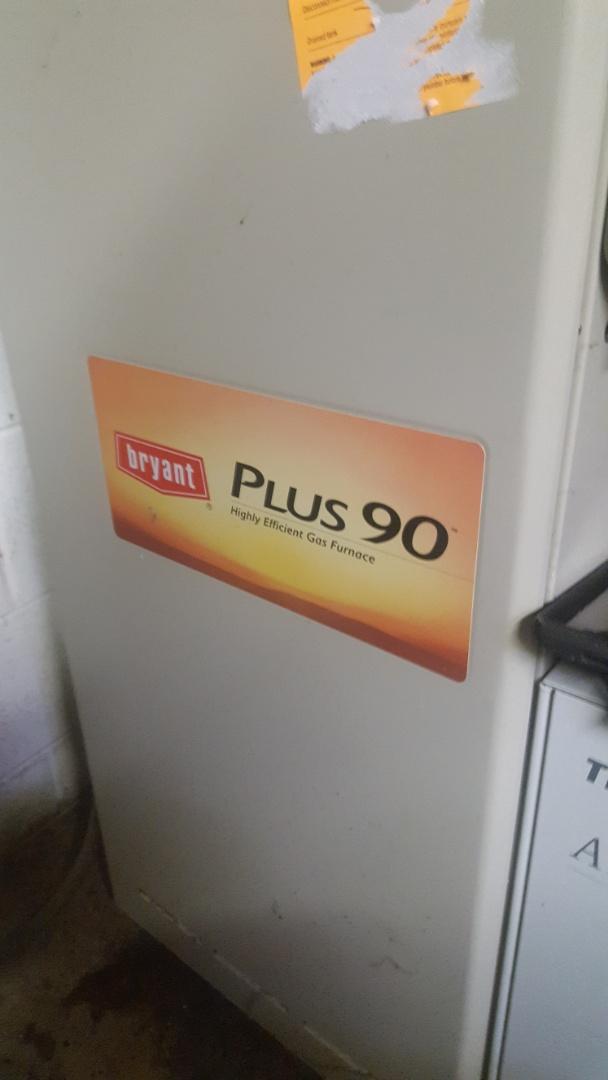 Port Washington, WI - Bryant Plus 90 High efficient gas furnace repair