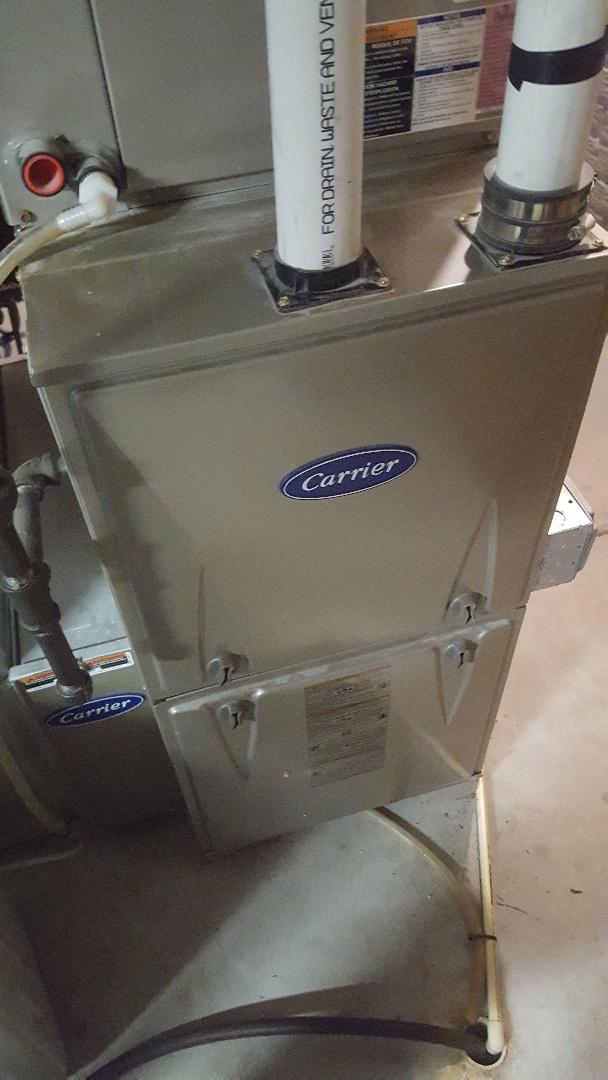 Port Washington, WI - Repair carrier high efficiency gas furnace under warranty