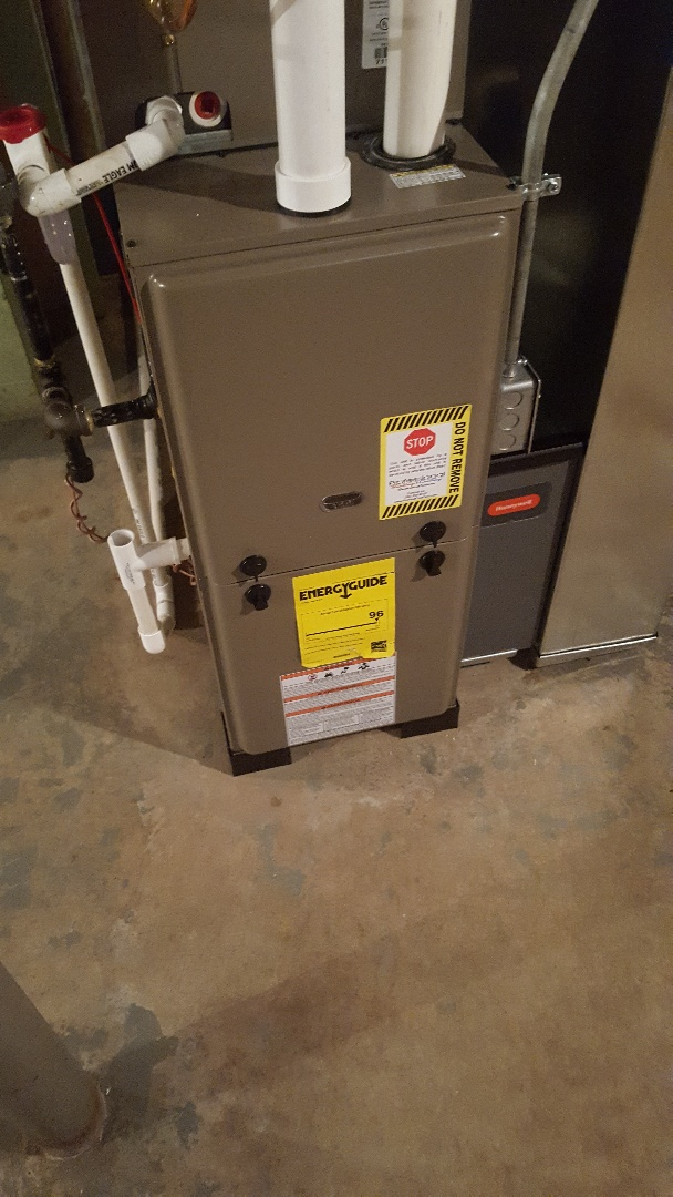 Port Washington, WI - Luxaire furnace & A/C install