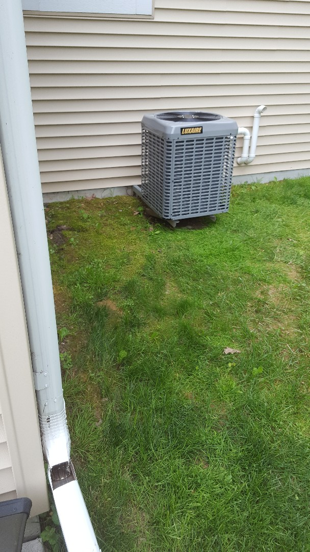 Grafton, WI - New Luxaire A/C install