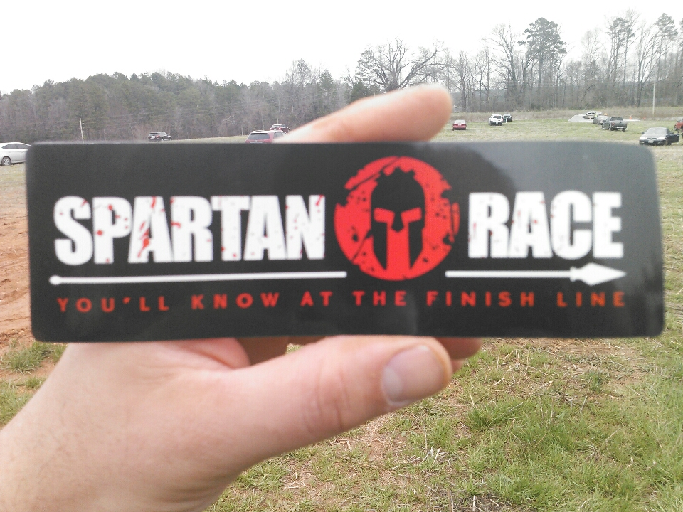 Concord, NC - I am representing Carey moving and storage of Asheville in the Charlotte Spartan Race. Why settle for any old movers when you can have Spartans.