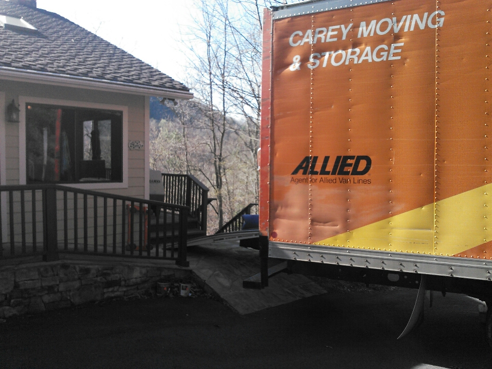 Black Mountain, NC - We are loading up a truckload in Black Mountain. We will be providing short term storage while they remodel their home.