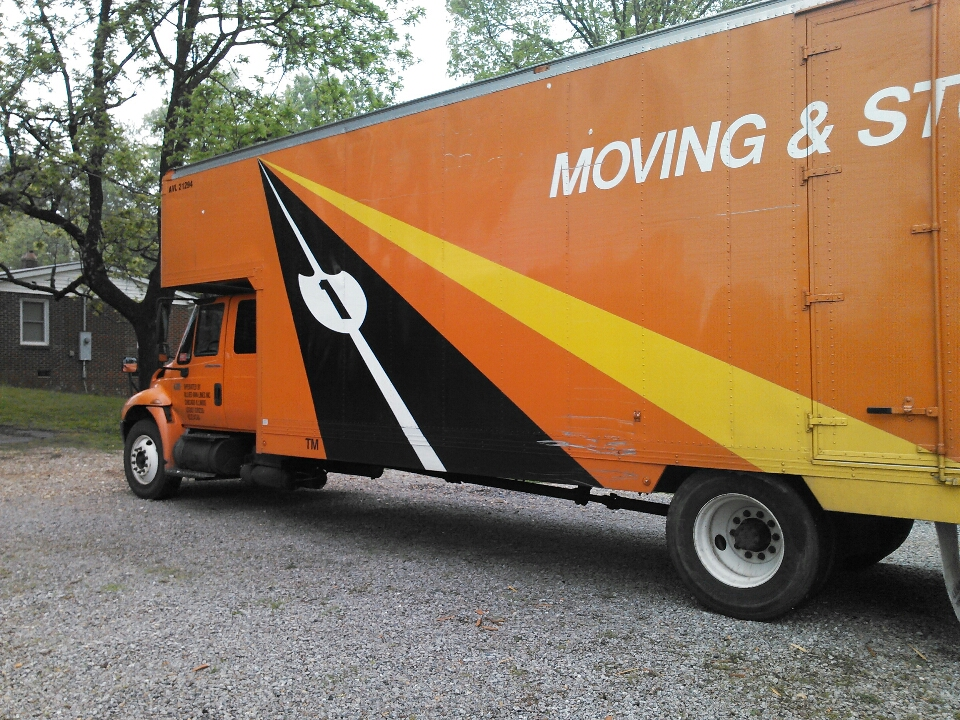 Marion, NC - We are packing  and loading up the personal belongings of a customer in Marion NC. They will be relocating to Gainesville Florida.