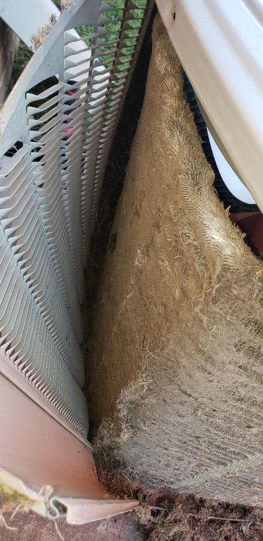 Summer maintenance in Glenpool Trane Equipment.