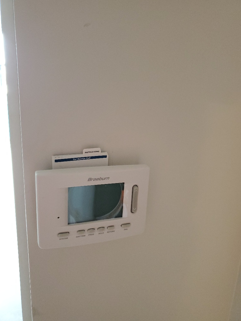 Installing thermostats at an apartment complex in Tulsa ok