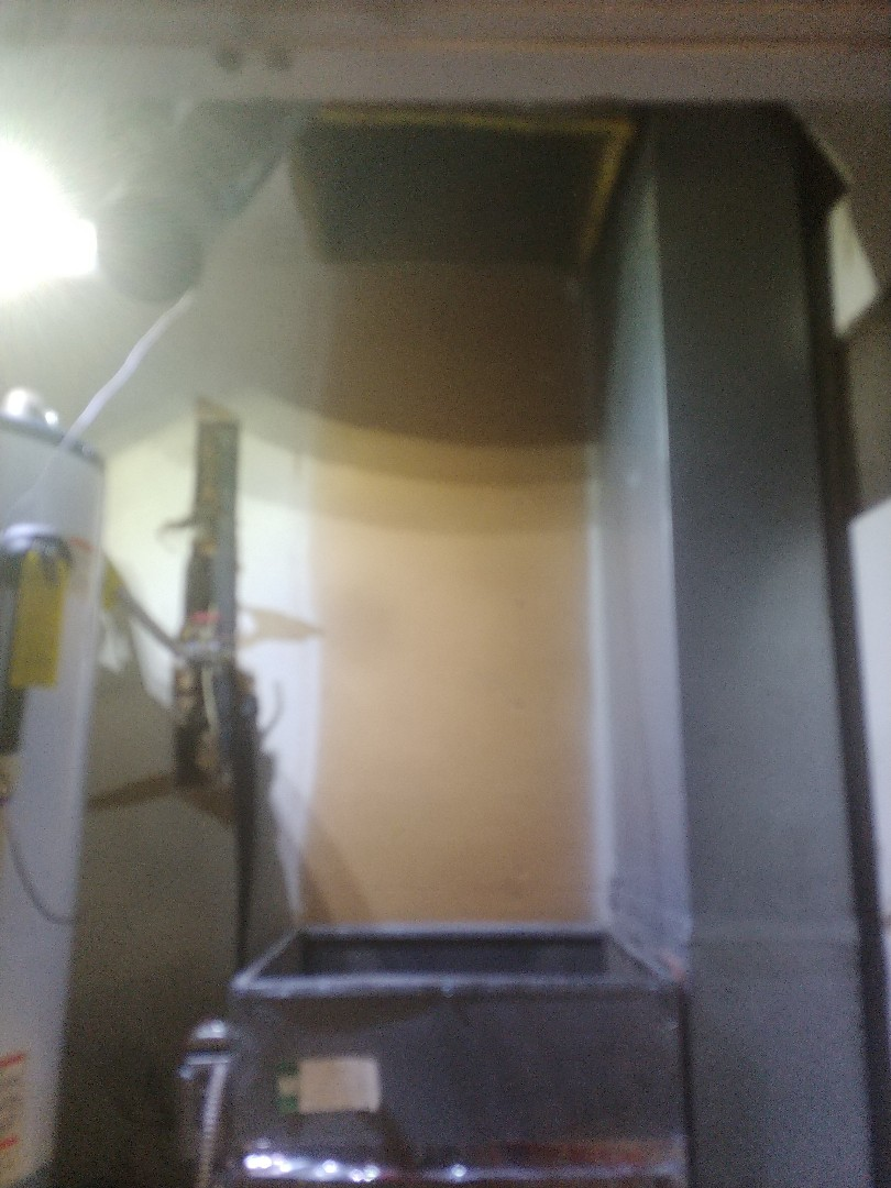 Installing carrier Furnace at customers house in Jenks