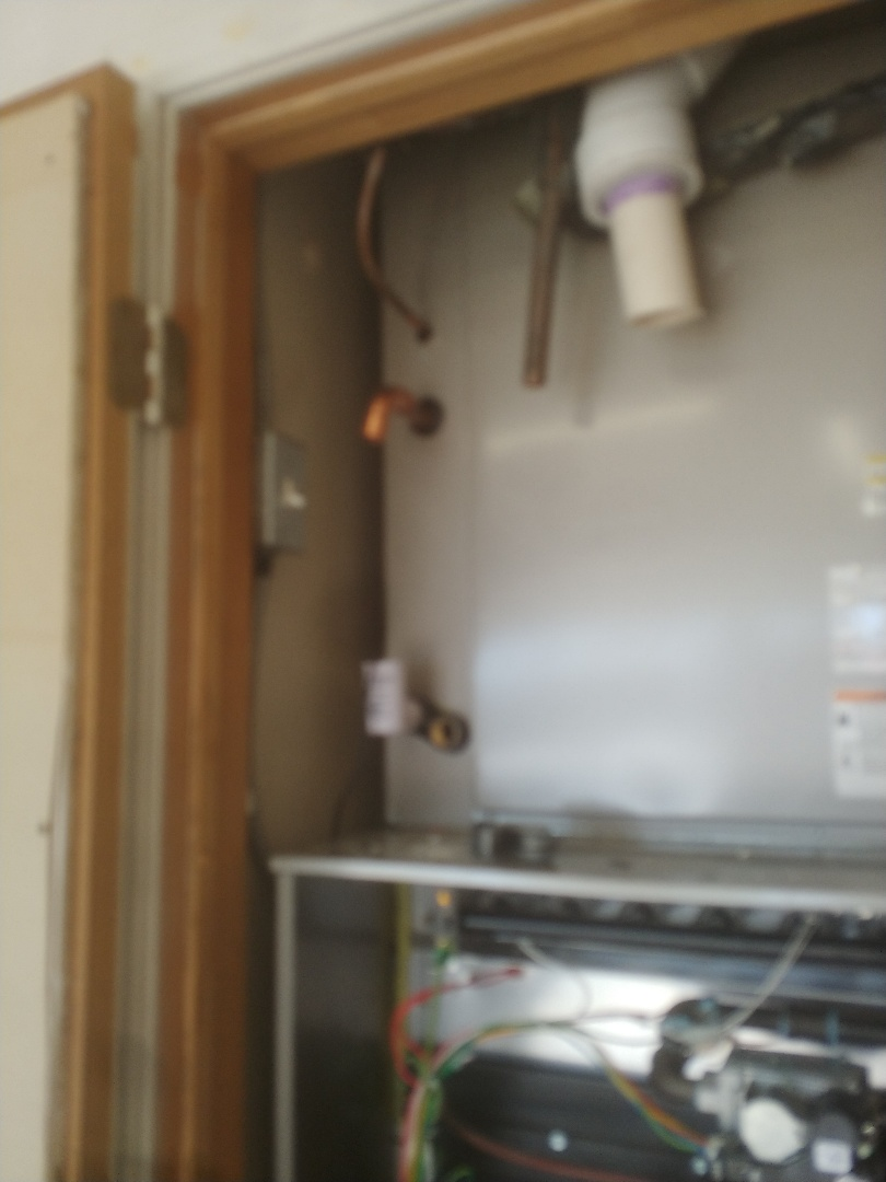 Installing Carrier Infinity system at customers house in Glenpool