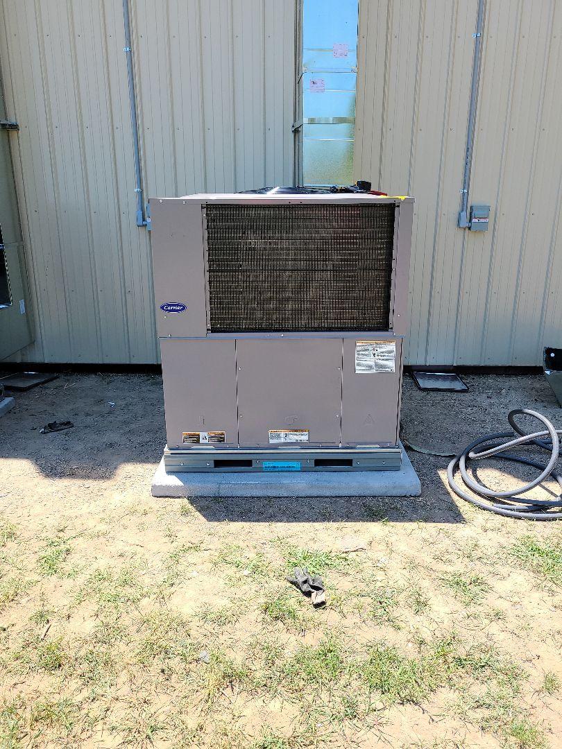 Catoosa, OK - New unit install job in Catoosa, Oklahoma