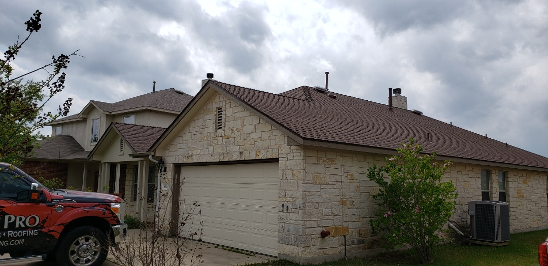 Pflugerville, TX - Finished up the new GAF Timberline HDZ Roof! Wow! It's perfect!