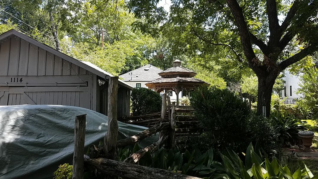 Austin, TX - Estimate for replacing a wood shake shingled Gazebo with GAF Timberline HDZ shingles