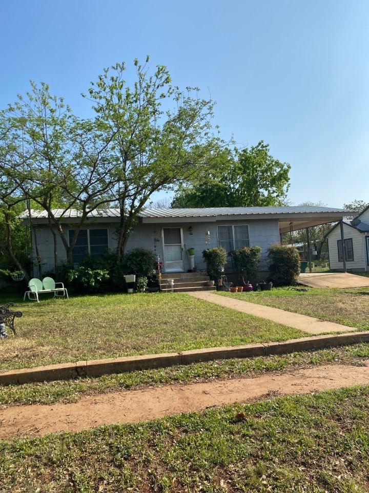 Llano, TX - Metal Roof Inspection. Llano Texas Hail Damage!