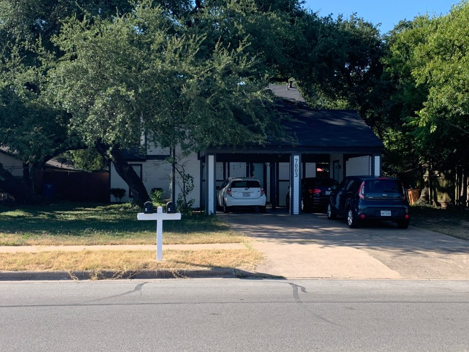 Austin, TX - In South Austin to replace existing Masonite siding with James Hardie fiber cement materials.
