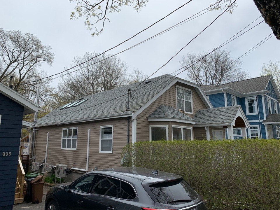 Halifax, NS - Installed 3 new VELUX skylights in this clients office, her clients are going to love the natural light!