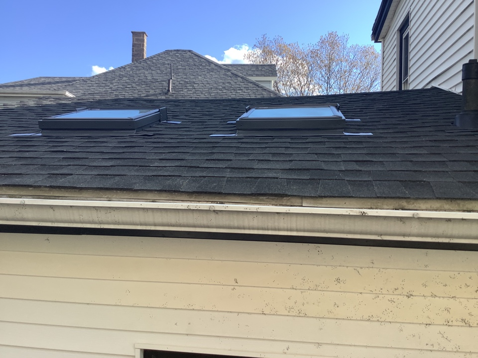 Dartmouth, NS - Installed VELUX skylights and VELUX sun tunnel