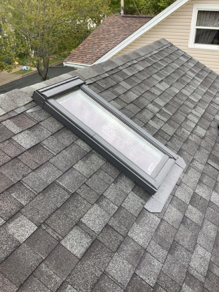 Halifax, NS - Installed VELUX roof window