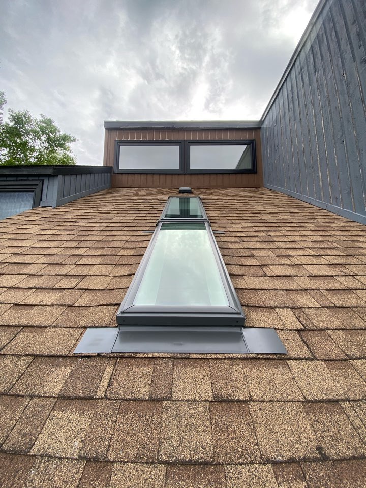 Dartmouth, NS - Roofworks installed VELUX combi skylights