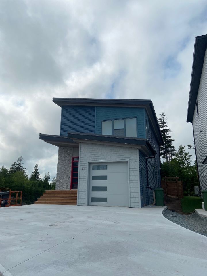 Timberlea, NS - Roofworks replaced oil-canned facia metal