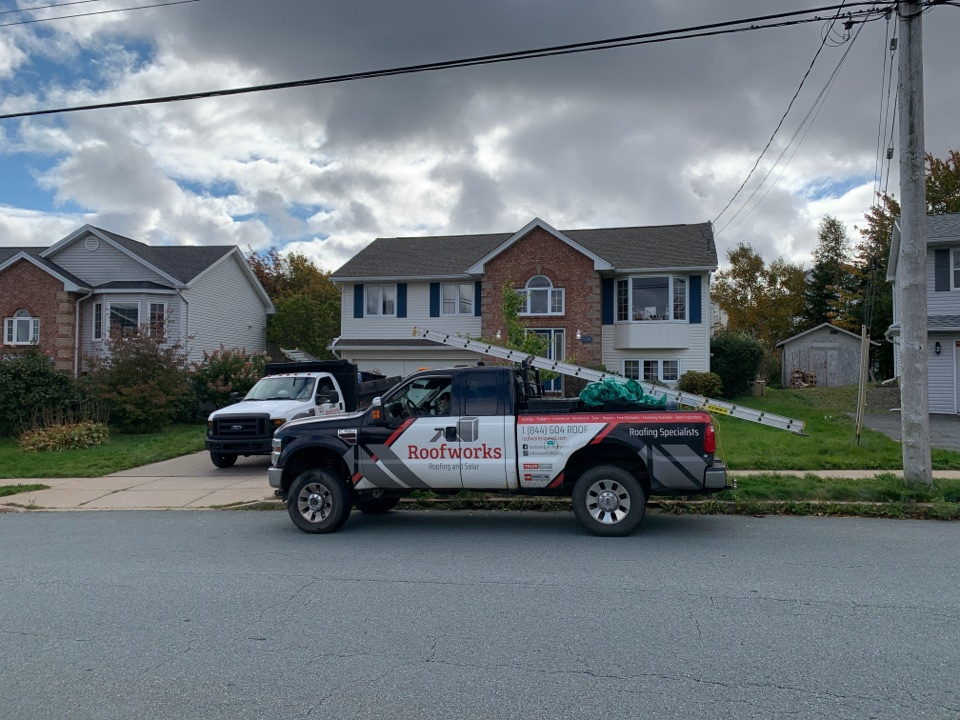 Forest Hills, NS - Roofworks installed Gaf Timberline HDZ roof shingles. #roofingcontractor #roofing #roofinglife #newroof