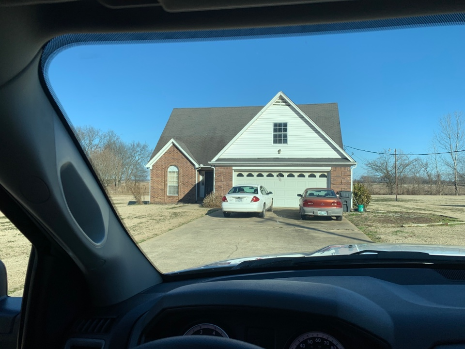 Covington, TN - Helping homeowner try to get insurance involved with a new roof