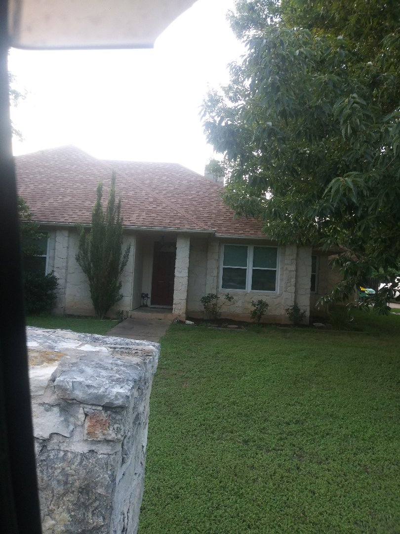 Georgetown, TX - Picture of roof we did in Indian greening georgetown