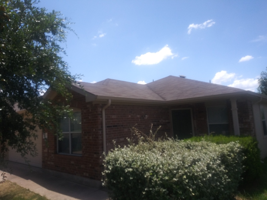 Liberty Hill, TX - Wind damage inspection. Liberty Hill