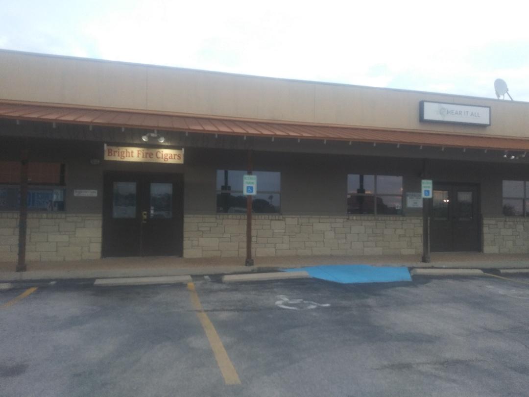 Liberty Hill, TX - Flat roof inspection on strip center near Liberty Hill Texas.