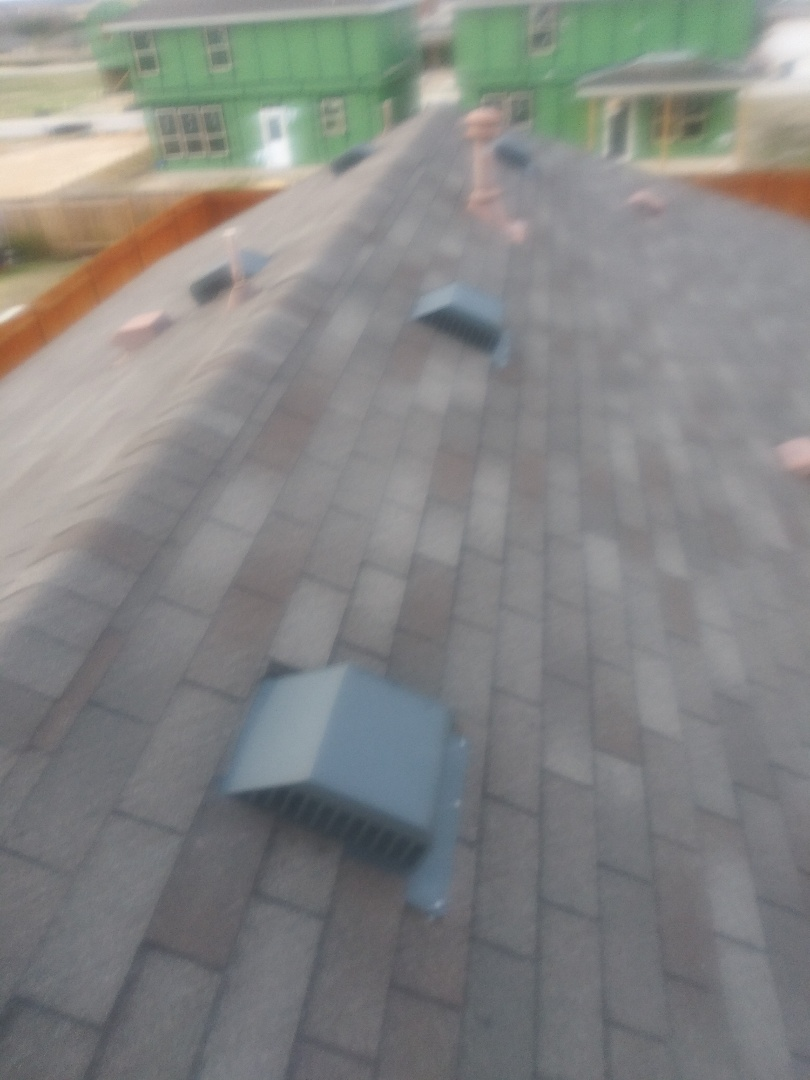 Leander, TX - Plastic air vents replaced with metal Leander Texas