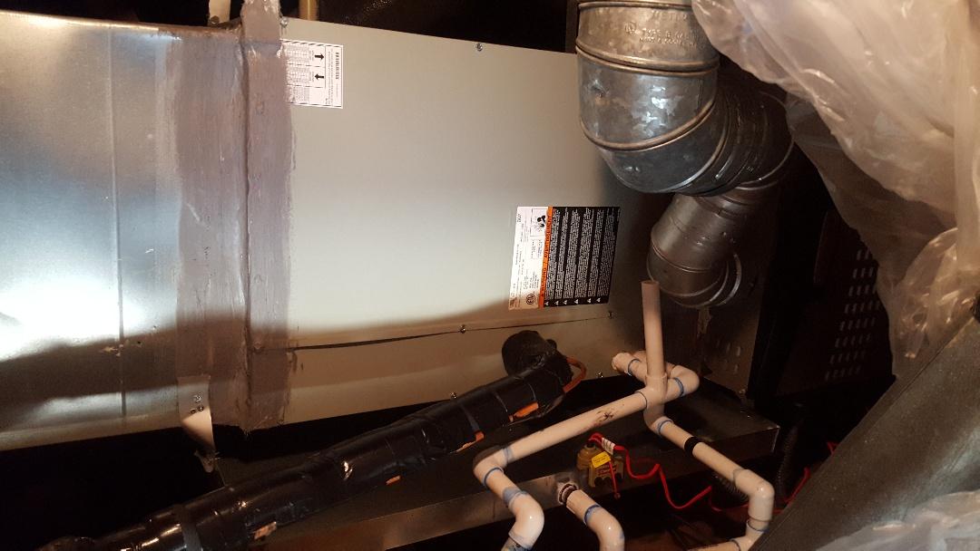 Frisco, TX - Install New Trane Evaporator Coil