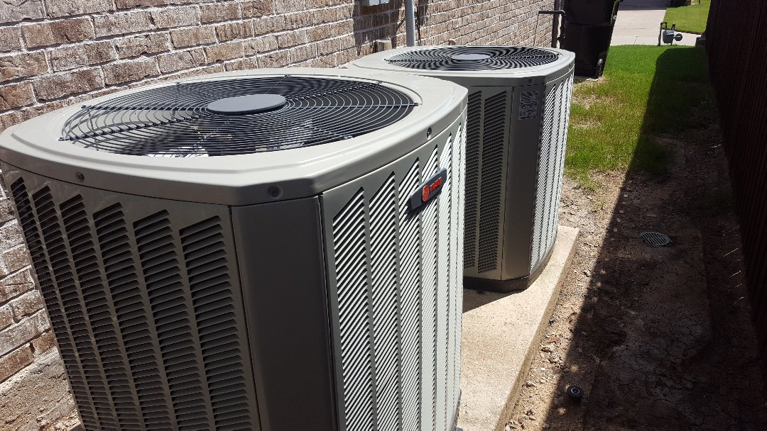 Frisco, TX - Tune up on Trane Air conditioning